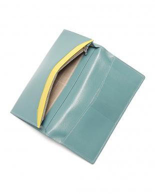 スカイ エンボスレザー 長財布を見る