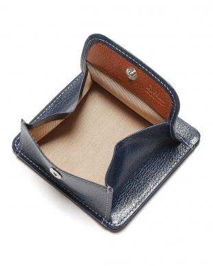 ネイビー エンボスレザー 財布を見る