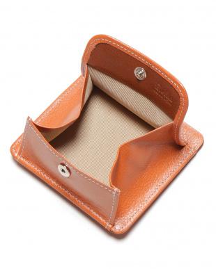 オレンジ エンボスレザー 財布を見る