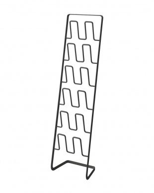 ブラック スリッパラック フレーム 6足用 スリムを見る
