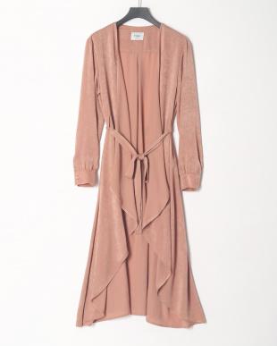 PINK vintage satin gownを見る