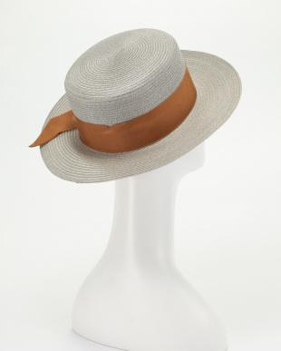 グレー Hemp Ribbon Hatを見る