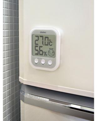 ホワイト デジタル温湿度計「オプシスプラス」を見る
