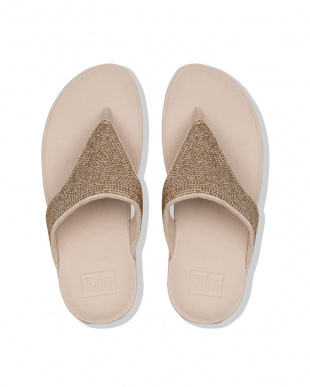 Artisan Gold LOTTIE SHIMMERCRYSTAL TOE-THONGSを見る