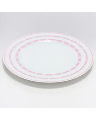 ヴォワレット デザートプレート22cm ピンクを見る
