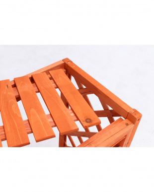 LBR 室外機カバー木製横格子を見る