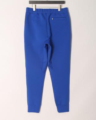 ブルー デザインポケット ジョガーパンツを見る