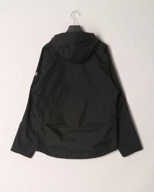 ブラック ダブルジップ フーデッド  ジャケットを見る