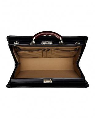 ブラック 日本製 ビジネスバッグ ダレスバッグ A4サイズ収納可 EW21574を見る