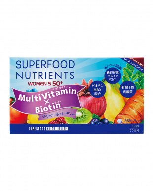 SUPERFOOD LAB STANDARD EDITION MULTI VITAMIN WOMEN'S 50+ 30日分 3個セットを見る