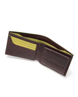 Brown x Green 二つ折り財布を見る