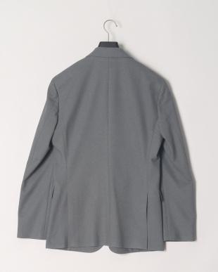 グレー ウォッシャブル ホップサックジャージージャケットを見る