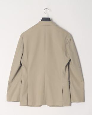 ベージュ ウォッシャブル ホップサックジャージージャケットを見る