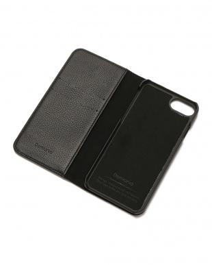 ブラック×シルバースタッズ METEOR(ミティアー)ブラック×シルバー iPhone8/7/6s/6 兼用フランスレザーケースを見る