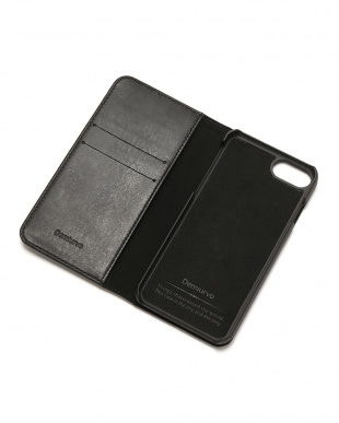 ブラック PEBBLY(ぺブリー)ブラック iPhone8/7/6s/6 兼用イタリアレザーケースを見る