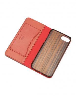 チェリーピンク PEBBLY(ぺブリー)チェリーピンク iPhone8/7/6s/6 兼用イタリアレザー 木製ケースを見る