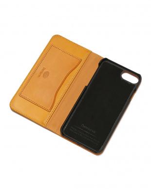 イエロー PEBBLY(ぺブリー)イエロー iPhone8/7/6s/6 兼用イタリアレザーケースを見る