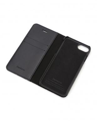 ブラック×シルバー GLEAM(グリーム)ブラック×シルバー iPhone8/7/6s/6 兼用イタリアレザーケースを見る