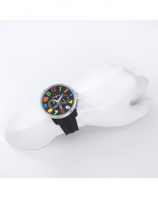 ブラック GULLIVER RAINBOW 腕時計を見る