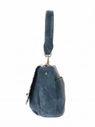 ブルー デザインフラップバッグ MK MICHEL KLEIN BAGを見る