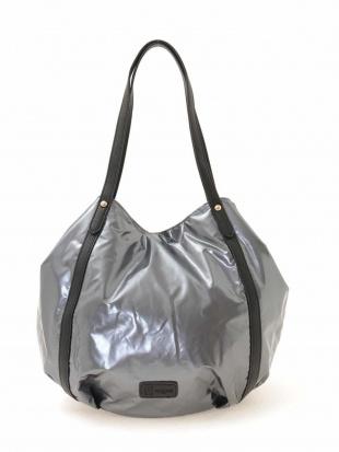 シルバー 【2WAY】グロスカラートートバッグ MK MICHEL KLEIN BAGを見る