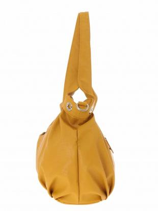 イエロー 【2WAY】ハトメデザインフェイクレザーバッグ MK MICHEL KLEIN BAGを見る