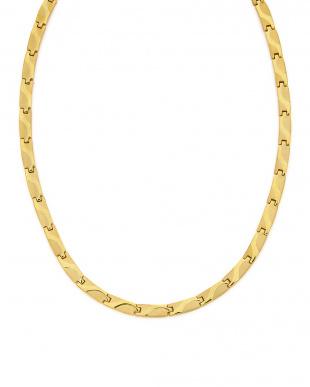 ゴールド  ステンレス K18 デザインネックレスを見る