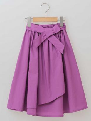 ベージュ [100-130]ウェストリボンラップスカート[WEB限定サイズ] a.v.v bout de chouを見る