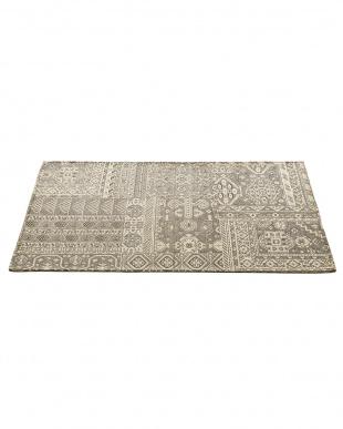 グレー ゴブラン織マット キルマ 70×120cmを見る