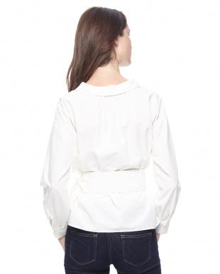 WHITE カシュクールシャツを見る