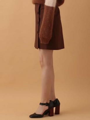 ブラウン ラップデザインスカート IMPORTED TARA JARMONを見る
