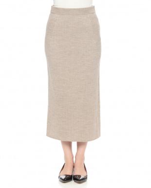 チャコール 2/48ウールビクトリアスカートを見る