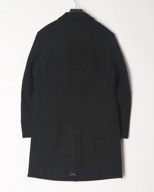 BLACK ヘリンボーンチェスターコートを見る