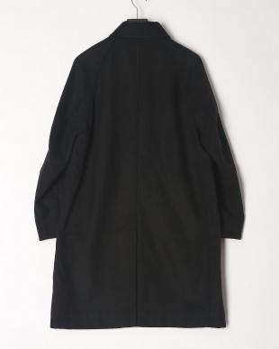 black サーモライトメルトンステンカラーコートを見る