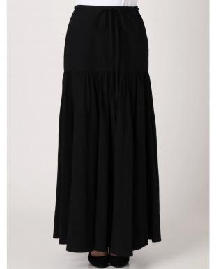 ブラック エキゾチックギャザースカート LAGUNAMOONを見る