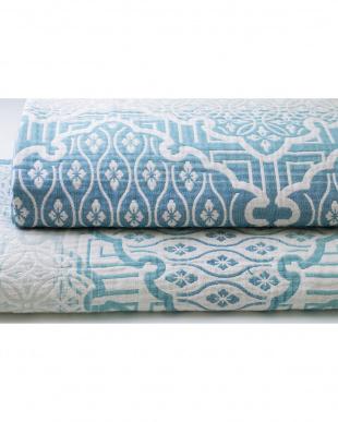 ブルー 四重織ガーゼ毛布を見る
