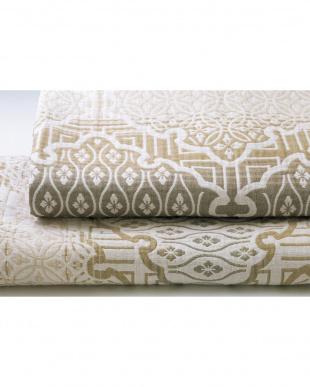 ベージュ 四重織ガーゼ毛布を見る