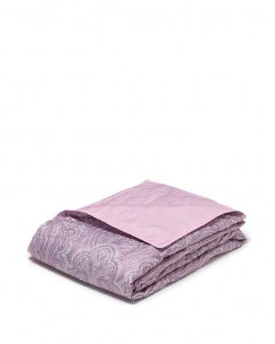 ピンク 肌掛羽毛布団を見る