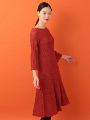 オレンジ ゴアードニットドレス Sybilla を見る