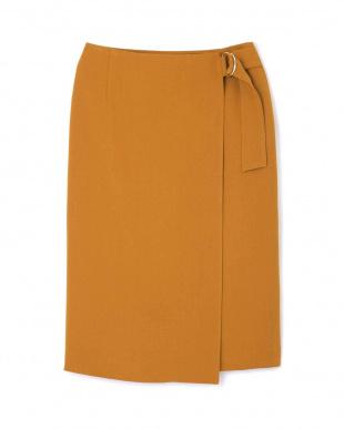 オレンジ [WEB限定商品]《B ability》ラップタイトスカート BOSCHを見る