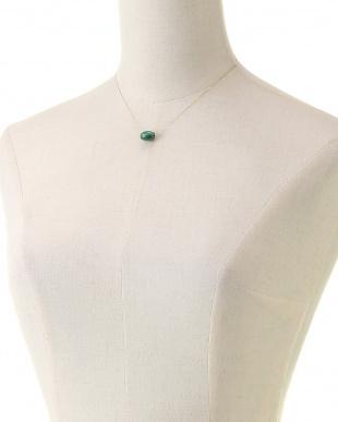 K18YG マラカイト ネックレス 40㎝を見る
