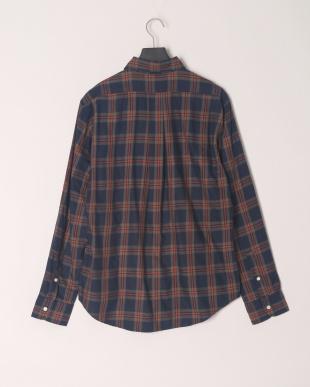 NAVY チェックシャツを見る