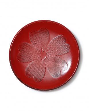 漆塗4.0丸銘々皿 布張桜 根来2枚セットを見る