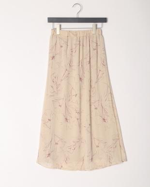 ベージュ系 楊柳スカートを見る