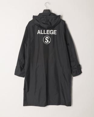 blk ALLEGE S.:NYLON HOODED COATを見る