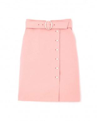 ピンク プテラノブッチャーパール付きタイトスカート プロポーション ボディードレッシングを見る
