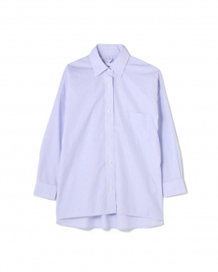 ブルー 《2nde edition》100/2ブロードシャツ アッシュスタンダードを見る