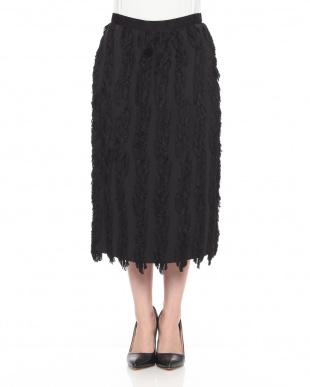 black フリンジカットJQ スカートを見る
