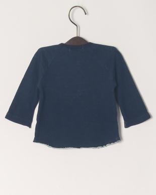 ネイビー 60/-先染接結 ベビーL/S Tシャツを見る