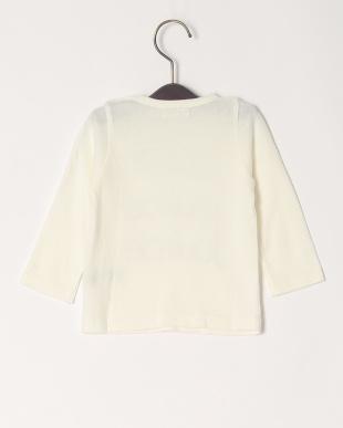 ホワイト 16/-サークルエアーテンジクロゴPT ベビーL/S Tシャツを見る